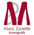 Mara Zanette Iconografa Logo